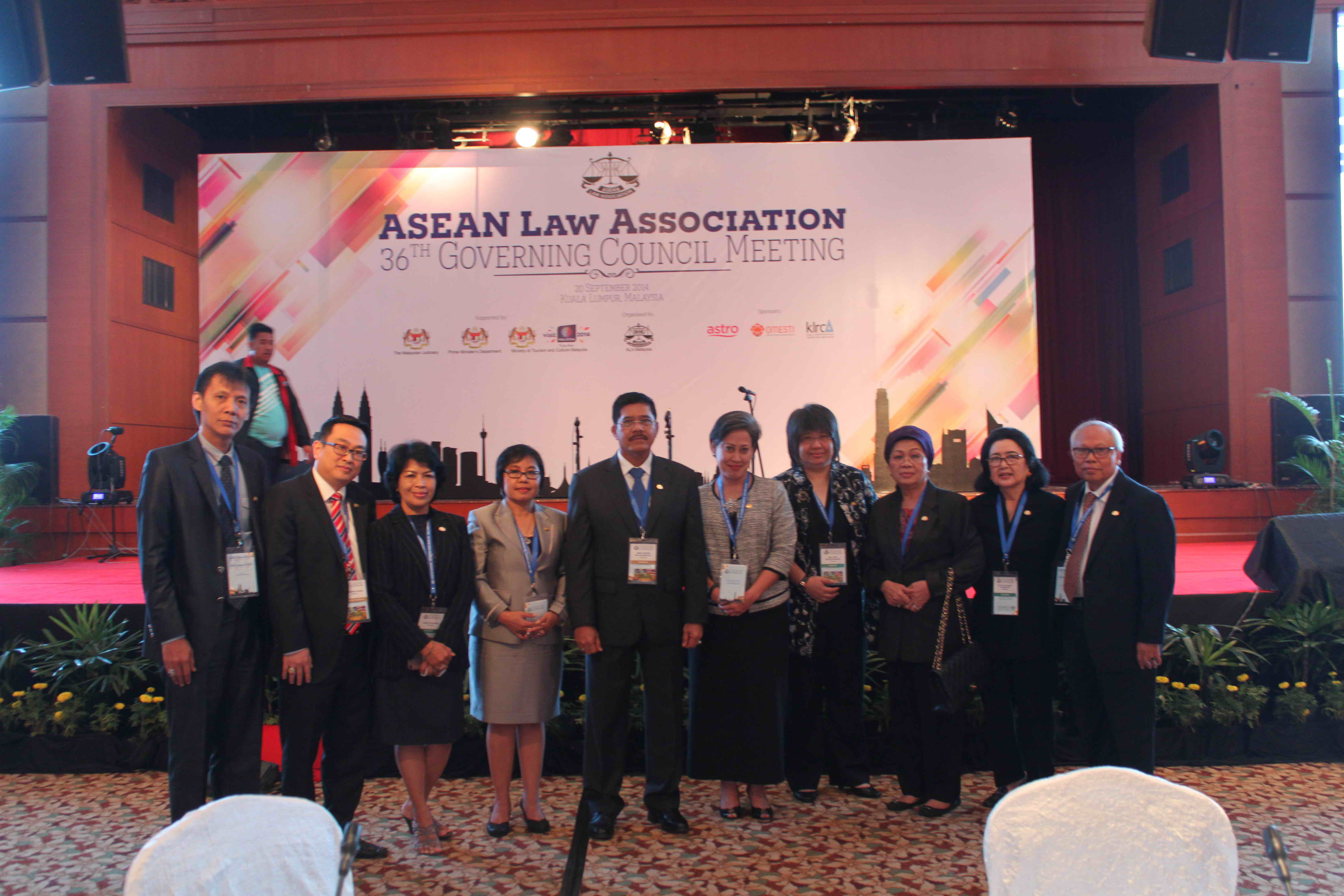ASEAN Law Association 36th Governing Council Meeting 20140920